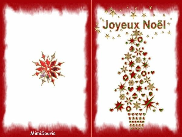 carte de voeux joyeux noel a imprimer. Black Bedroom Furniture Sets. Home Design Ideas